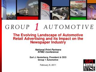 The Evolving Landscape of Automotive Retail Advertising and its Impact on the Newspaper Industry