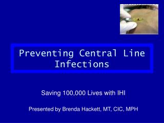 Preventing Central Line Infections