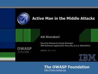 Active Man in the Middle Attacks