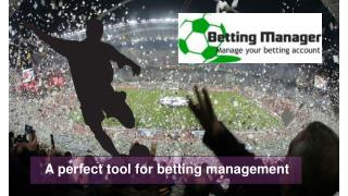 Betting Manager Single Tool