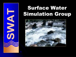 Surface Water  Simulation Group