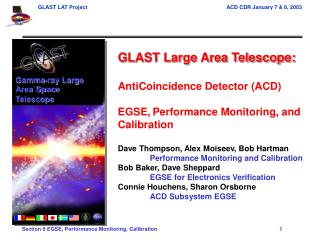 GLAST Large Area Telescope: AntiCoincidence Detector (ACD)