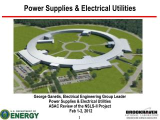 Power Supplies & Electrical Utilities