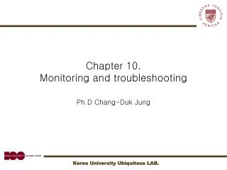 Chapter 10.  Monitoring and troubleshooting