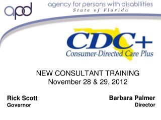 NEW CONSULTANT TRAINING  November 28 & 29, 2012
