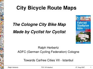 City Bicycle Route Maps