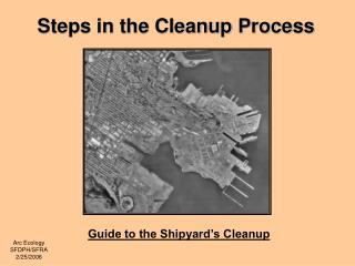 Steps in the Cleanup Process