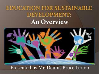 Education for sustainable development: