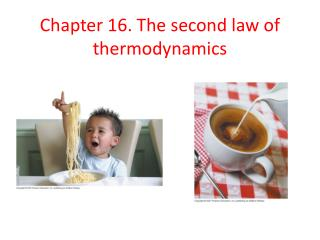Chapter 16. The second law of thermodynamics