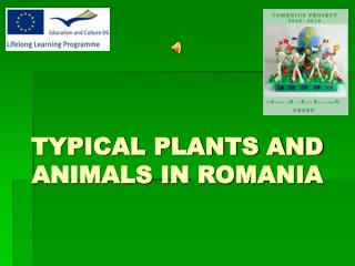 TYPICAL PLANTS AND ANIMALS IN ROMANIA