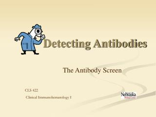 Detecting Antibodies