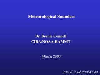 Meteorological Sounders