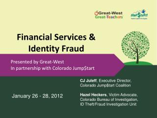 Financial Services & Identity Fraud