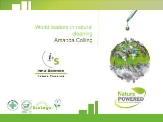 World leaders in natural  cleaning Amanda Colling