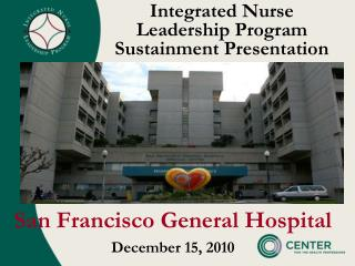 Integrated Nurse  Leadership Program Sustainment Presentation