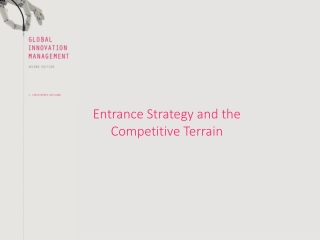Entrance Strategy and the Competitive Terrain