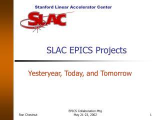SLAC EPICS Projects