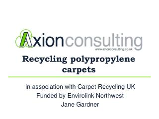 Recycling polypropylene carpets