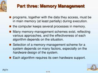 Part three: Memory Management