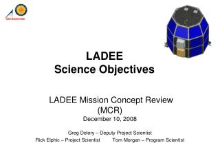 LADEE Science Objectives