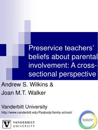 Preservice teachers' beliefs about parental involvement: A cross-sectional perspective