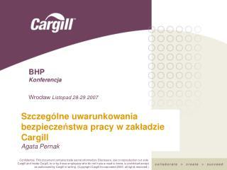 BHP Konferencja