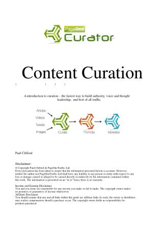 GettingStartedWithCuration