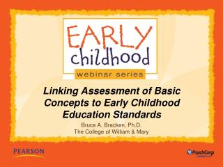 Linking Assessment of Basic Concepts to Early Childhood Education Standards