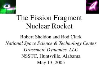 The Fission Fragment Nuclear Rocket