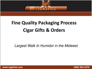 Shipping Cigars | Shipping Fresh Cigars | CigarFox
