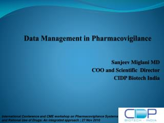 Data Management in  Pharmacovigilance