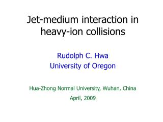 Jet-medium interaction in heavy-ion collisions