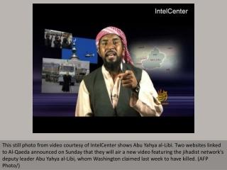 'Dead' Al-Qaeda leader appears in new video