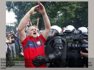 Euro fans clash with police