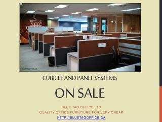 Cubicle and Office Panel Systems on SALE at Blue Tag Office