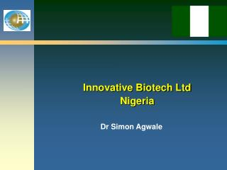 Innovative Biotech Ltd Nigeria