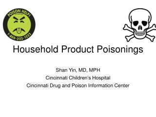 Household Product Poisonings