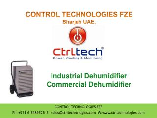 Dehumidifier. Industrial Dehumidifier.