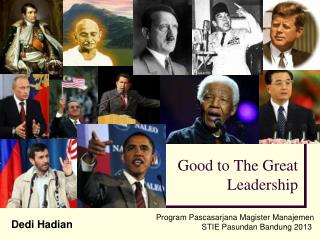 Good to The Great Leadership
