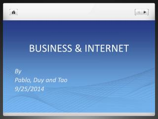 BUSINESS & INTERNET