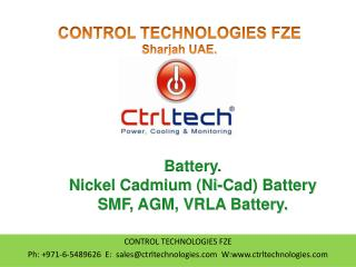 Battery. Nickel Cadmium Battery. Ni-cad Battery. AGM, UPS.