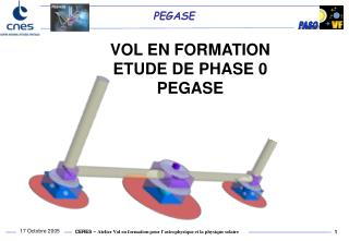 VOL EN FORMATION   ETUDE DE PHASE 0  PEGASE