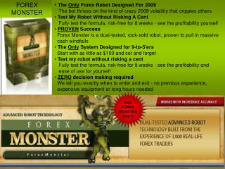 Forex Monster Review - Forex Monster Advanced Robot Technolo