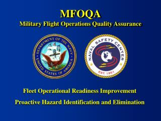 MFOQA Military Flight Operations Quality Assurance