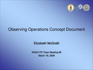 Observing Operations Concept Document