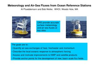 Meteorology and Air-Sea Fluxes from Ocean Reference Stations