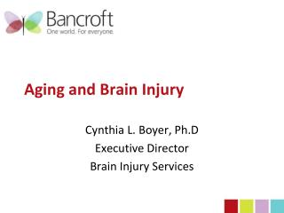 Aging and Brain Injury