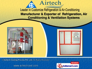 suppliers of Cooling Systems  include Air Cooling System