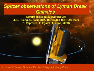 Spitzer observations of Lyman Break Galaxies