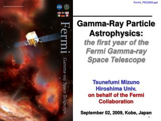 Gamma-Ray Particle Astrophysics: the first year of the Fermi Gamma-ray Space Telescope